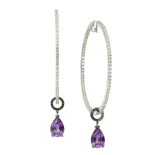 TEAR AMETHYST CHARMS