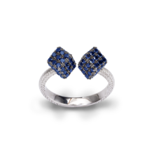 DOUBLE BLUE ICE RING
